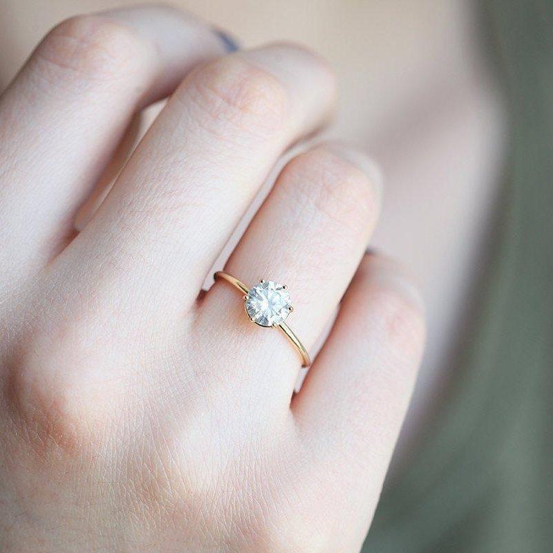 Solitaire-Diamond-Ring