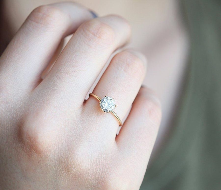 Solitaire-Diamond-Ring