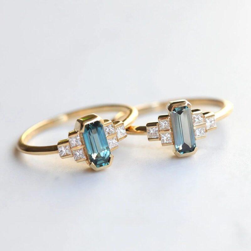 Baguette-Sapphire-Ring