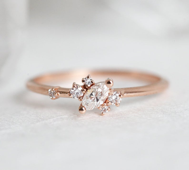 Marquise-Diamond-Cluster-Ring-7