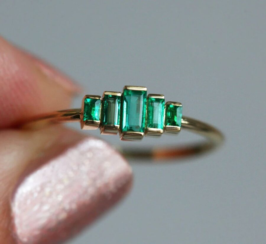 Patti-Baguette-Emerald