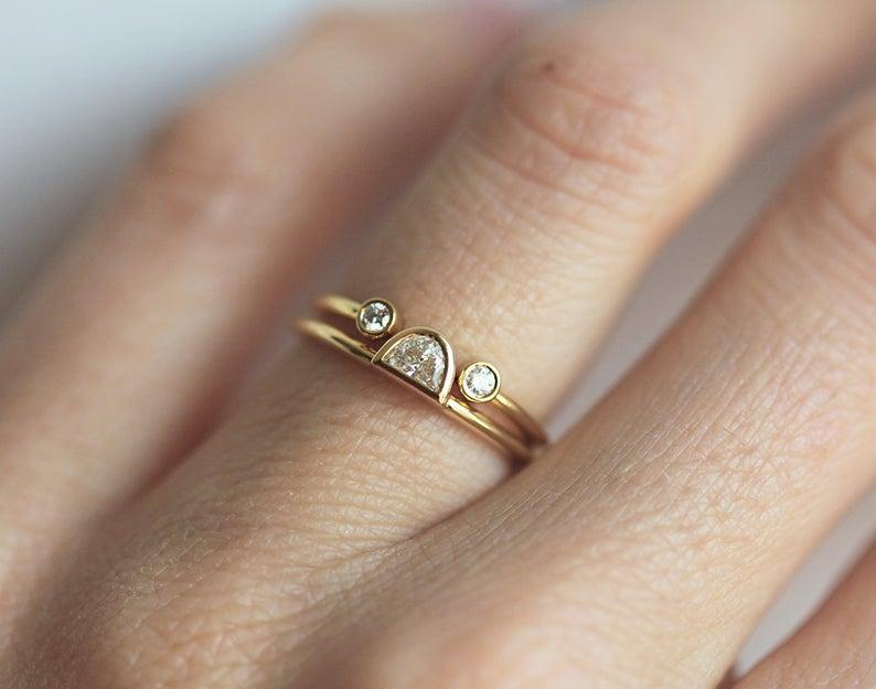 Delicate-Open-Diamond-Ring