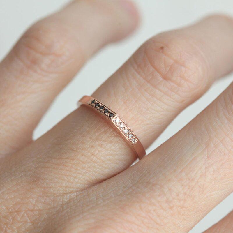 Pointed-Pave-Diamond-Ring