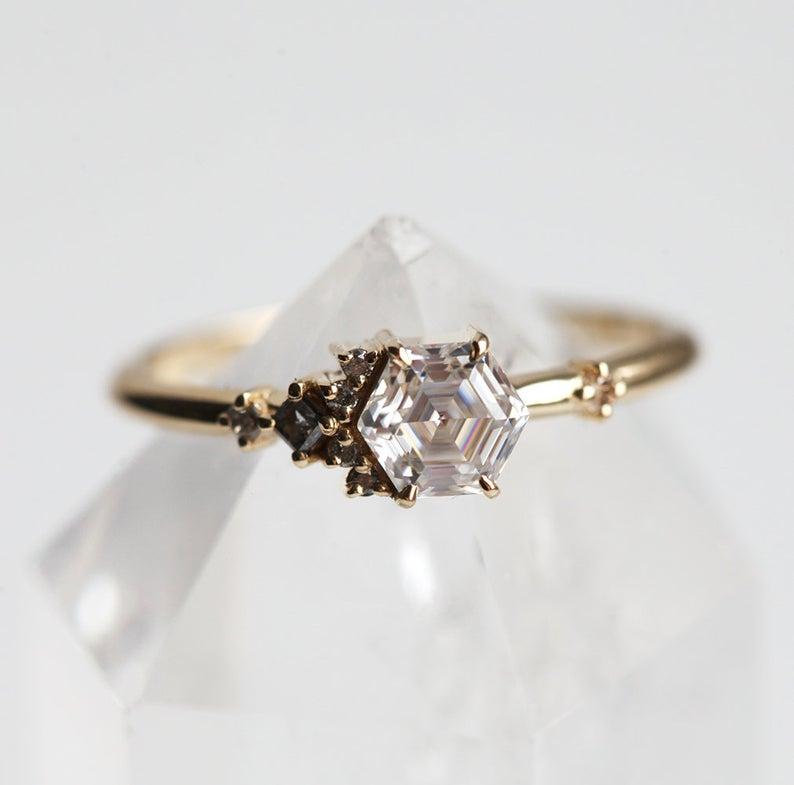 cluster-hexagon-moissanite-diamond